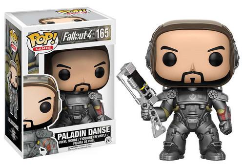 Funko Fallout 4 POP! Games Paladin Danse Vinyl Figure #165