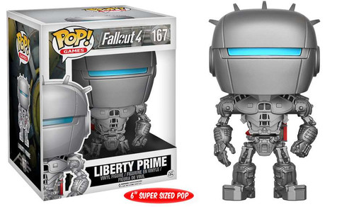 Funko Fallout 4 POP! Games Liberty Prime 6-Inch Vinyl Figure #167 [Super-Sized]