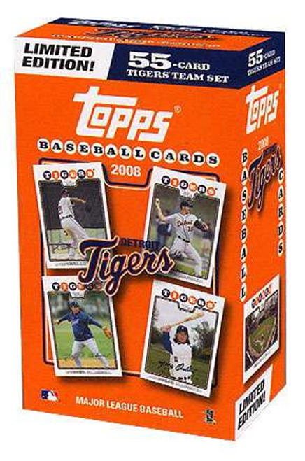 MLB Detroit Tigers 2008 Boxed Collector's Edition Team Set [55 Cards]