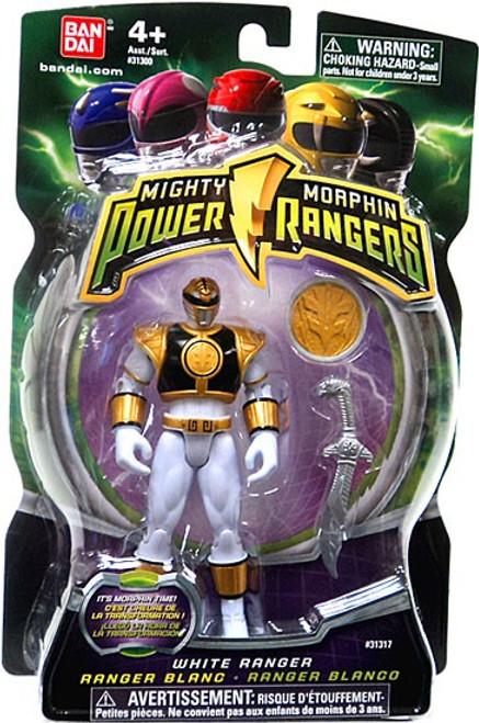 Power Rangers Mighty Morphin White Ranger Action Figure