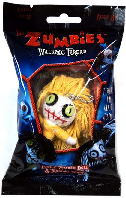 The Zumbies Walking Thread Lucky Zombie Doll Kenneth Keychain