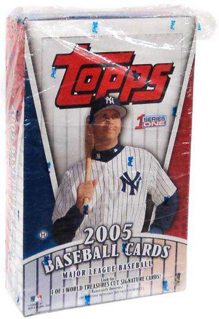 MLB Topps 2005 Baseball Series 1 Trading Card HOBBY Box [36 Packs]