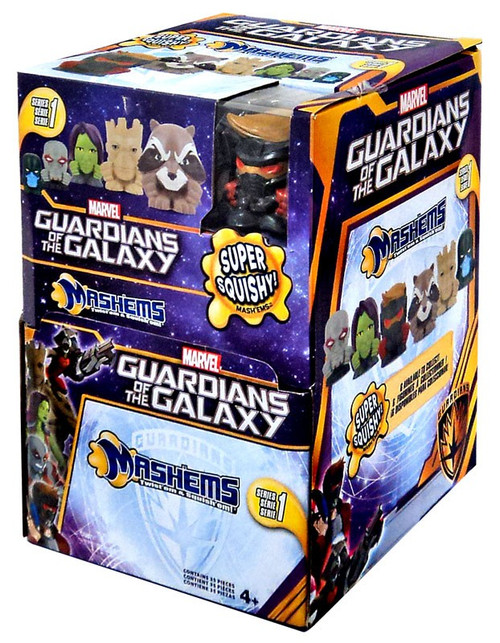 Marvel Guardians of the Galaxy Mash'Ems Mystery Box [35 Packs]