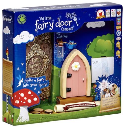 The Irish Fairy Door Company Pink Arched Irish Fairy Door