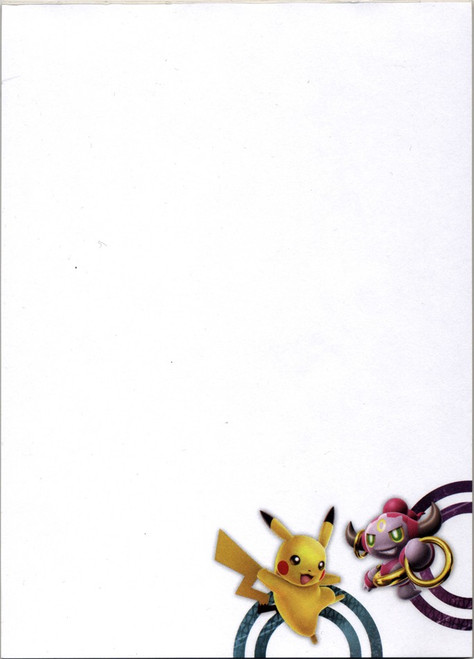 Nintendo Pokemon Hoopa & Pikachu Pad