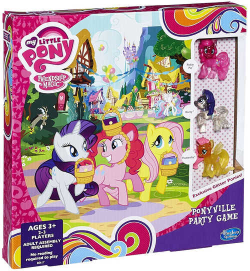 My Little Pony Friendship is Magic Games Ponyville Party Game Exclusive