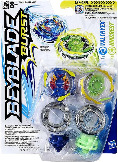 Beyblade Burst Valtryek & Unicrest Dual Pack