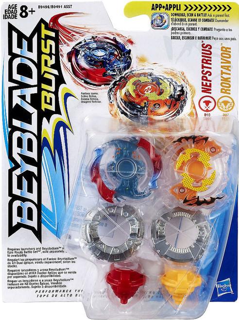 Beyblade Burst Roktavor & Nepstrius Dual Pack