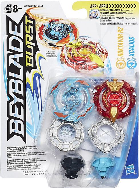Beyblade Burst Roktavor R2 & Xcalius Dual Pack