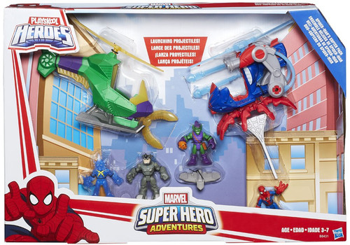 Marvel Playskool Heroes Super Hero Adventures Spider-Man's Copter Pack Exclusive