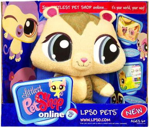Littlest Pet Shop Online LPSO Pets Chipmunk Plush