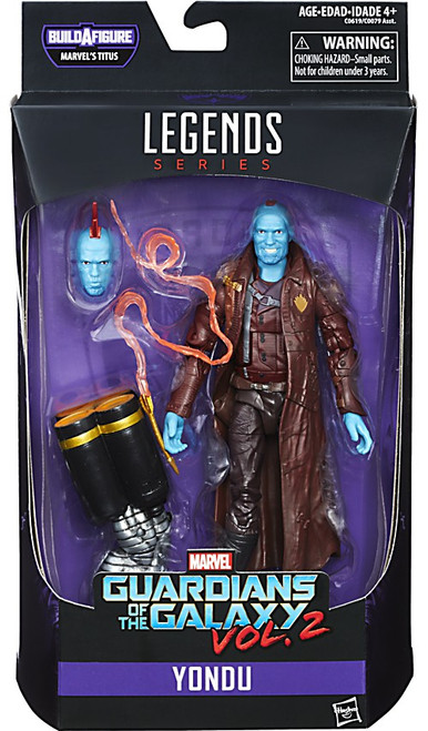Guardians of the Galaxy Vol. 2 Marvel Legends Titus Series Yondu Action Figure