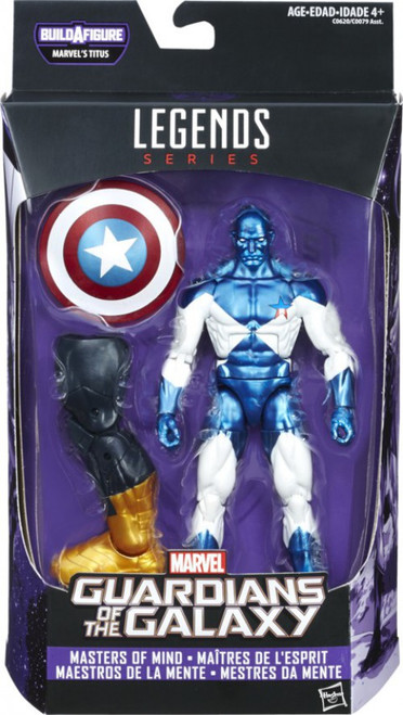 Guardians of the Galaxy Vol. 2 Marvel Legends Titus Series Vance Astro Action Figure [Masters of Mind]