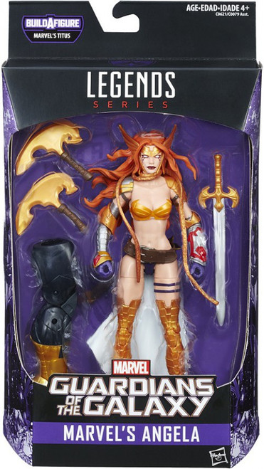 Guardians of the Galaxy Vol. 2 Marvel Legends Titus Series Marvel's Angela Action Figure