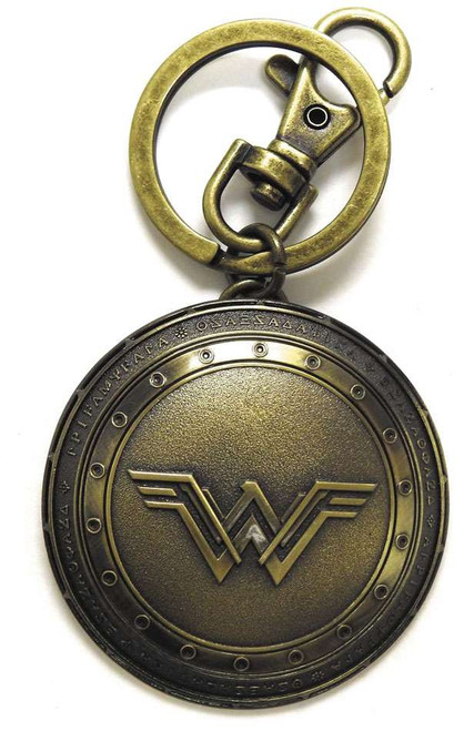DC Batman V Superman Wonder Woman's Shield Pewter Key Ring