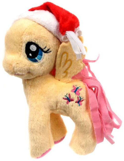 My Little Pony Friendship is Magic Holiday Fluttershy 5-Inch Plush [With Santa Hat]