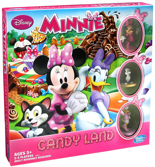 Disney Minnie Mouse Minnie Candy Land Board Game [Sweet Treats Edition]