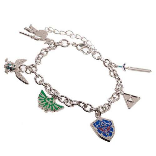 The Legend of Zelda Zelda Charm Bracelet Apparel