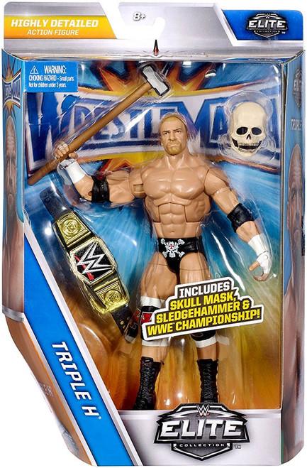 WWE Wrestling Elite Collection WrestleMania 33 Triple H Action Figure