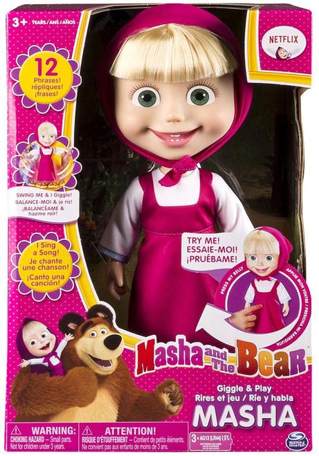 Masha and the Bear Giggle & Play Masha Interactive Doll