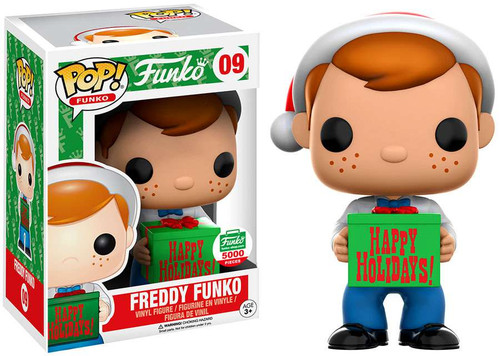 POP! Santa Freddy Funko Exclusive Vinyl Figure #09