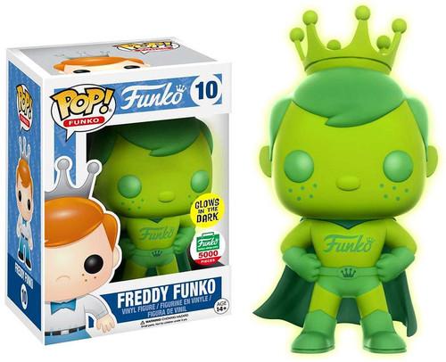 POP! Freddy Funko Exclusive Vinyl Figure #10 [Gamma Glow Superhero]