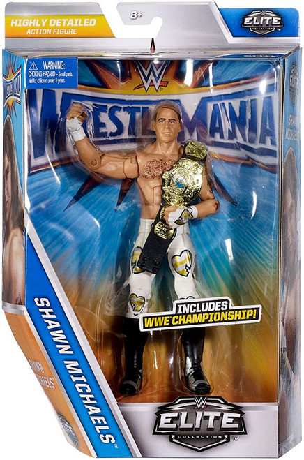 WWE Wrestling Elite Collection WrestleMania 33 Shawn Michaels Action Figure