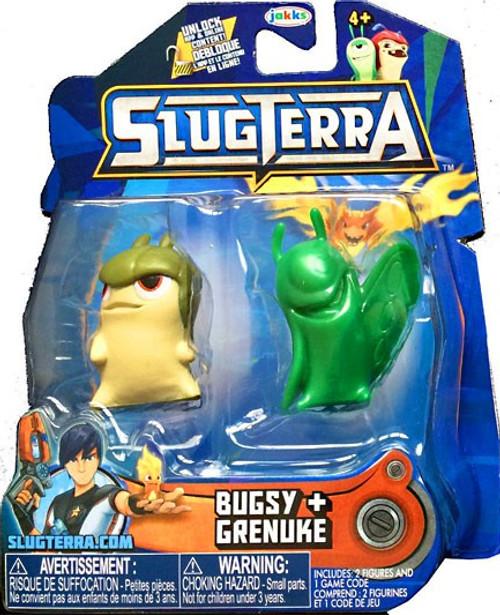 Slugterra Series 6 Bugsy & Grenuke Mini Figure 2-Pack