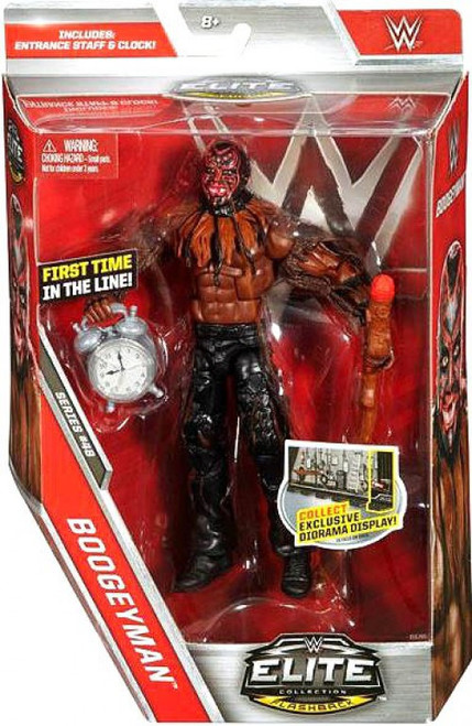 WWE Wrestling Elite Collection Series 48 Boogeyman Action Figure [Entrance Staff & Clock]