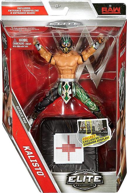 WWE Wrestling Elite Collection Series 48 Kalisto Action Figure [Entrance Trampoline & Entrance Mask]