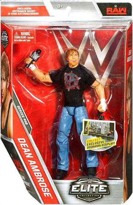 WWE Wrestling Elite Collection Series 48 Dean Ambrose Action Figure [Entrance Shirt & Fire Extinguisher]