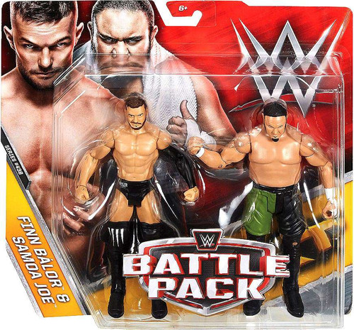 WWE Wrestling Battle Pack Series 43.5 Finn Balor & Samoa Joe Action Figure 2-Pack