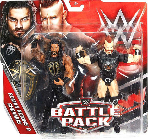 WWE Wrestling Battle Pack Series 43.5 Roman Reigns & Sheamus Action Figure 2-Pack