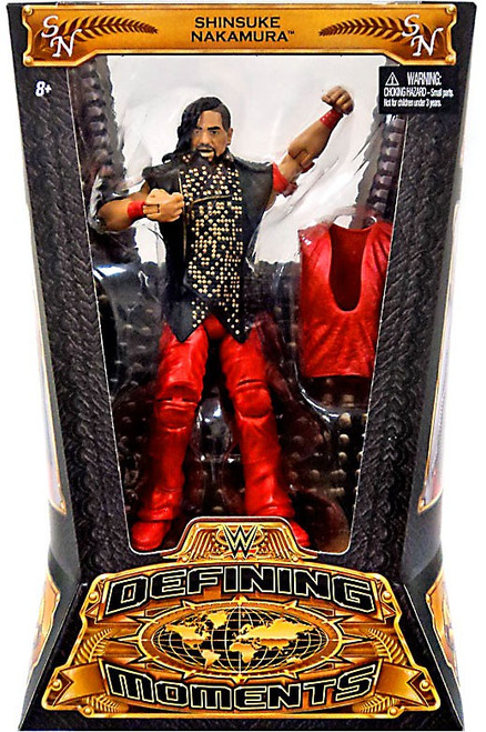 WWE Wrestling Defining Moments Shinsuke Nakamura Action Figure