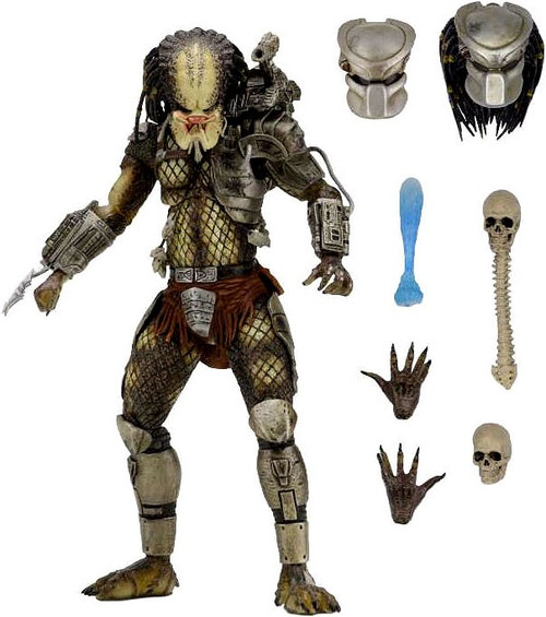 NECA Predator 2 Jungle Hunter Action Figure [Ultimate Version]