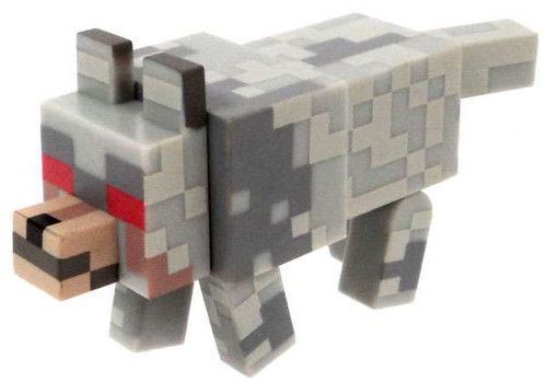 Minecraft Hostile Wolf Figure [Loose]