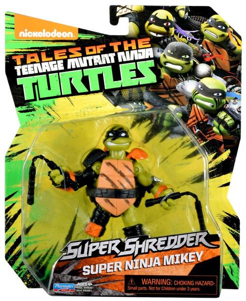 Teenage Mutant Ninja Turtles Tales of the TMNT Super Shredder Super Ninja Mikey Action Figure