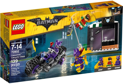 LEGO DC The Batman Movie Catwoman Catcycle Chase Set #70902