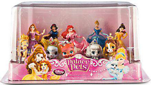 Disney Princess Palace Pets Deluxe Figure 10-Pack [Damaged Package]