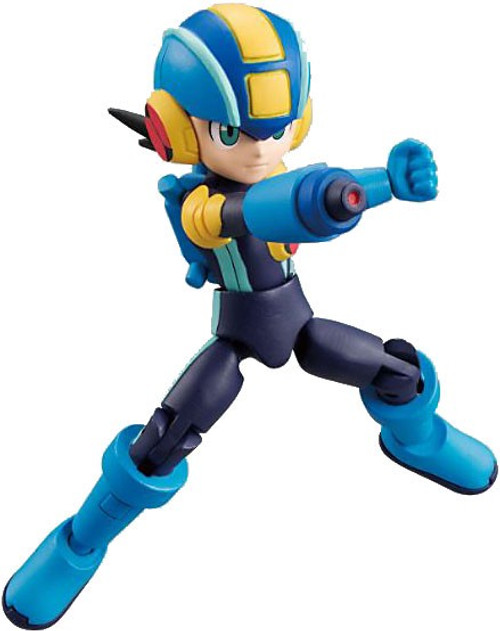 Battle Network Shokugan 66 Action Series 1 Mega Man.EXE 2.6-Inch Trading Figure