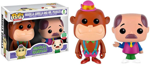 Funko Hanna-Barbera POP! Animation Magilla Gorilla & Mr. Peebles Exclusive Vinyl Figure [Neon]