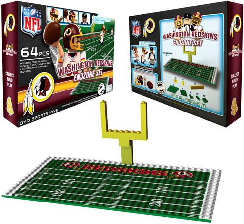 NFL Generation 1 Washington Redskins Endzone Set