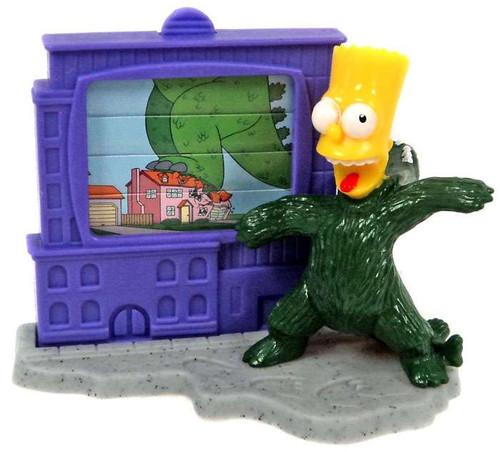 Burger King The Simpsons Creepy Classics Bart Mini Figure