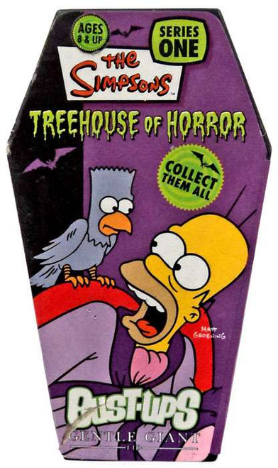 The Simpsons Bust Ups Series 1 Treehouse of Horror Homer with Raven Bart Figure