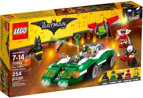 LEGO DC The Batman Movie The Riddler Riddle Racer Set #70903