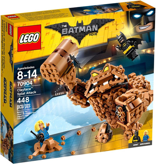 LEGO DC The Batman Movie Clayface Splat Attack Set #70904