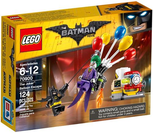 LEGO DC The Batman Movie The Joker Balloon Escape Set #70900