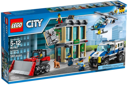 LEGO City Bulldozer Break-In Set #60140