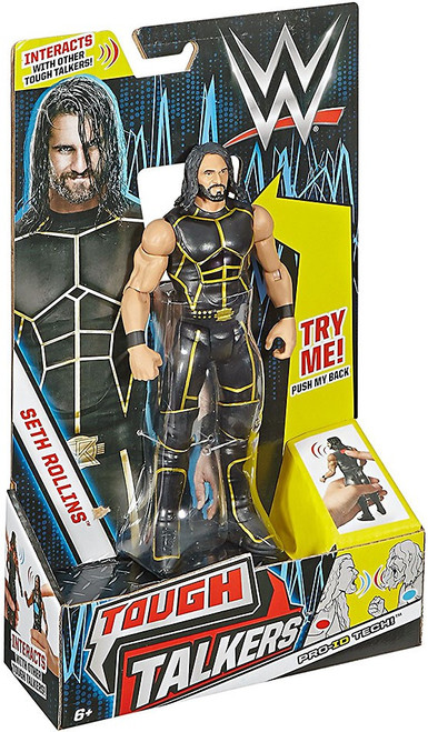 WWE Wrestling Tough Talkers Seth Rollins Action Figure