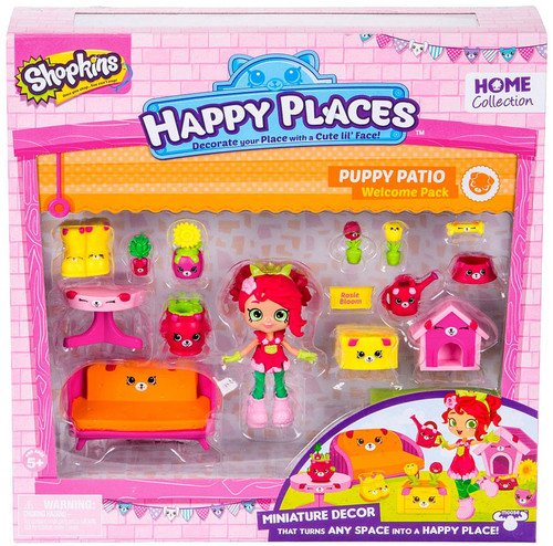 Shopkins Happy Places Series 2 Puppy Patio Welcome Pack [Rosie Bloom]
